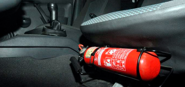 Extintor Automotivo