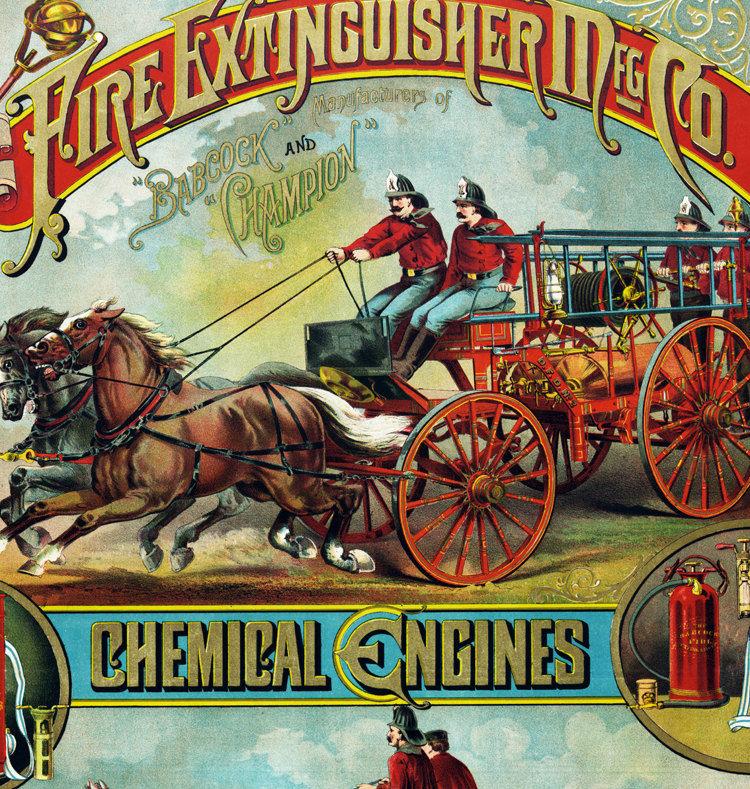 História do Extintor de Incêndio